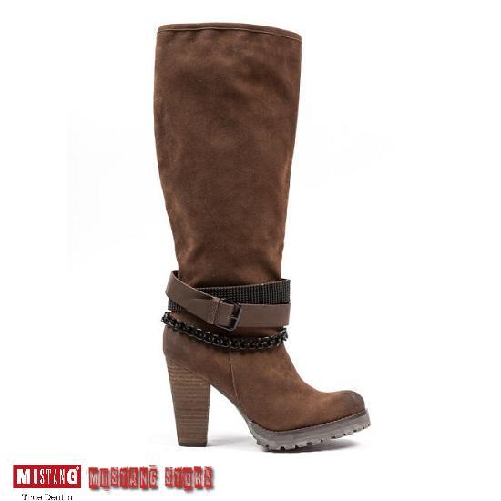 Női Cipő Bakancs Devergo, Retro Jeans, Mustang Devergo